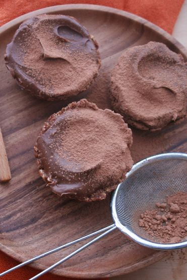 Chocolate Mousse Tarts - Loving Earth