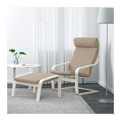 IKEA - POÄNG, Sessel, Simmarp grün, , Das Gestell aus schichtverleimter, formgebogener Birke sorgt für sanftes Schwingen.Kann für noch mehr Bequemlichkeit mit dem POÄNG Hocker kombiniert werden.Die hohe Rückenlehne stützt den Nackenbereich.Inklusive 10 Jahre Garantie. Mehr darüber in der Garantiebroschüre.Leicht sauber zu halten - der abnehmbare Bezug kann in der Maschine gewaschen werden.