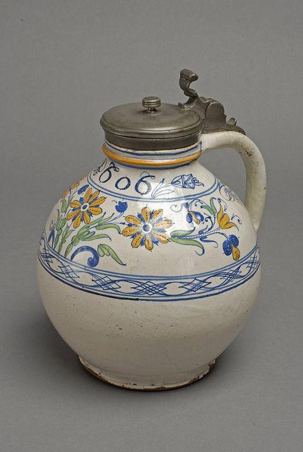 Haban jug with lid