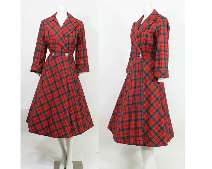 50s Hostess Dress // Vintage 1950s Quilted by hotcouturevintage, $48.00