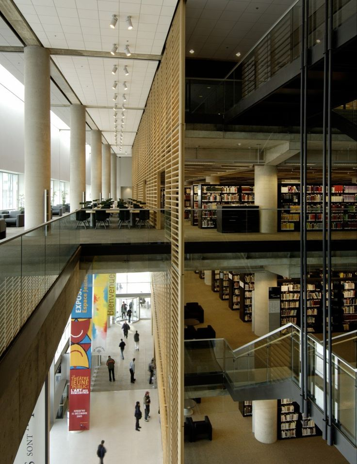 Gallery of Grand Library of Québec / Patkau Architects + Croft Pelletier + Menkès Shooner Dagenais architectes associés - 25