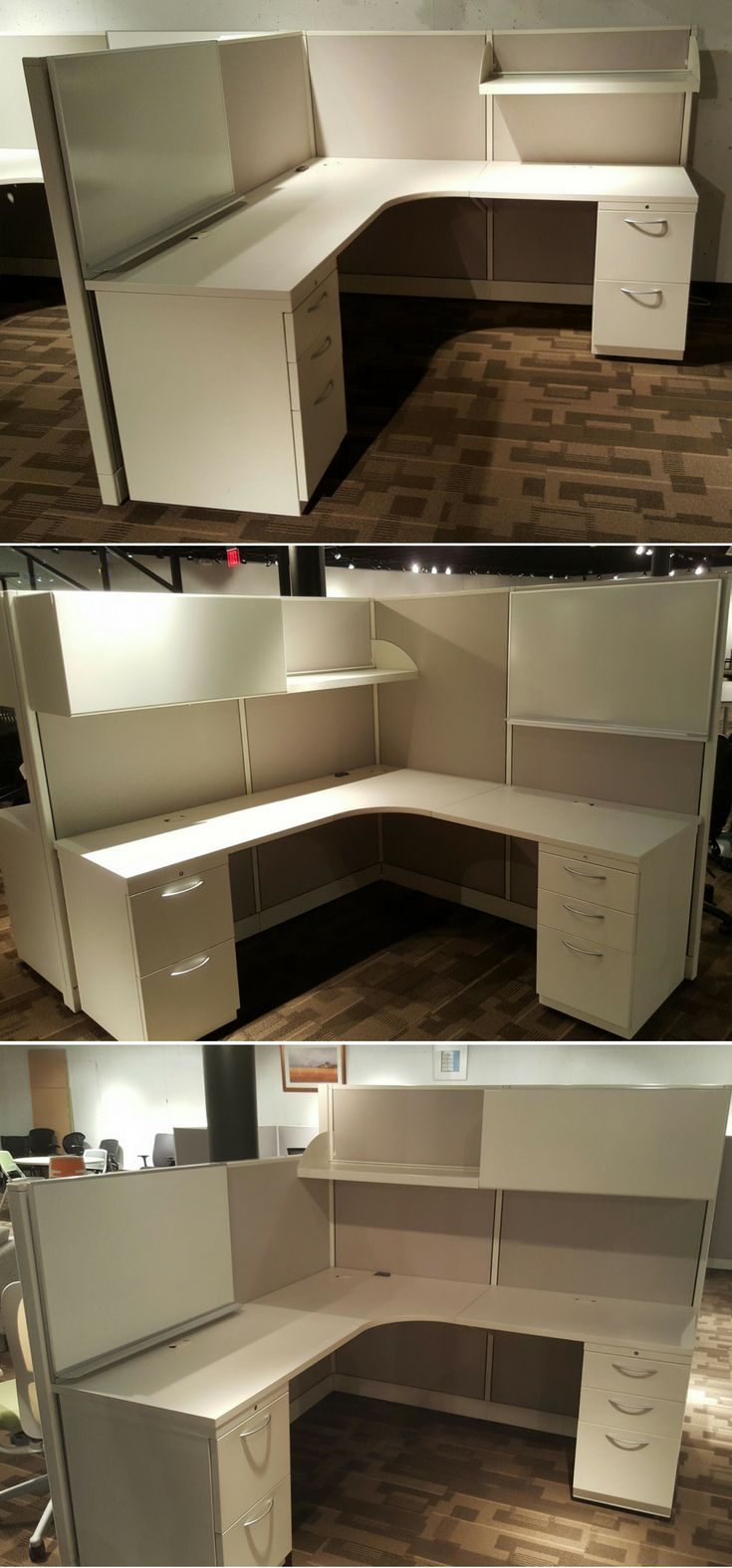 Used Cubicles In Kansas City. This Is The Same Allsteel Concensys Cubicle  Inventory Shown 3