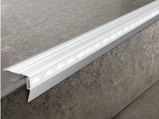 Perfiles esquineros de aluminio con LED PROSTAIR LED