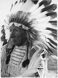 """Chief Red Cloud. He died in 1909 at the age of 87 on the Pine Ridge Reservation, where he was buried. He is quoted as saying in his old age, """"They made us many promises, more than I can remember. But they never  kept but one; they promised to take our land, and they took it."""""""