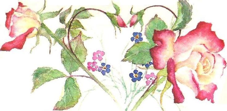Carol S Garden: Carol's Rose Garden Heart