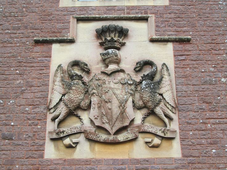 UK - Somerset - Dunster - Dunster Castle - Coat of Arms
