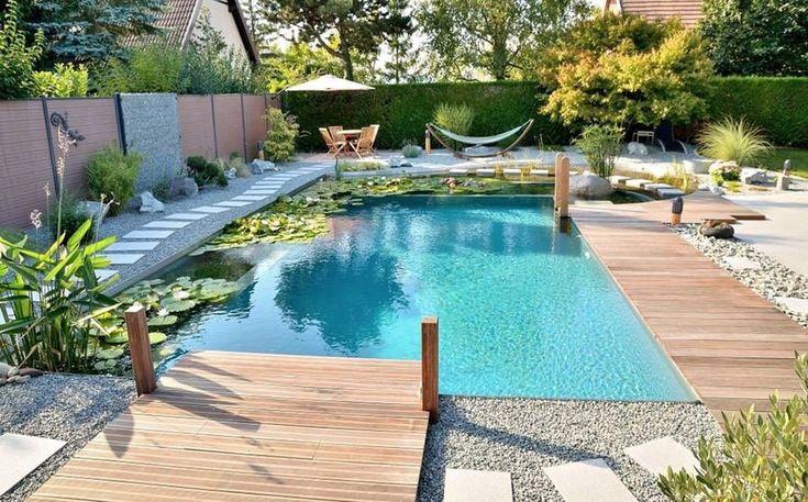 Biotop Natural Pool!    #biopool #ecopool #landscapedesign #pooldesign #biotoppools #greenliving