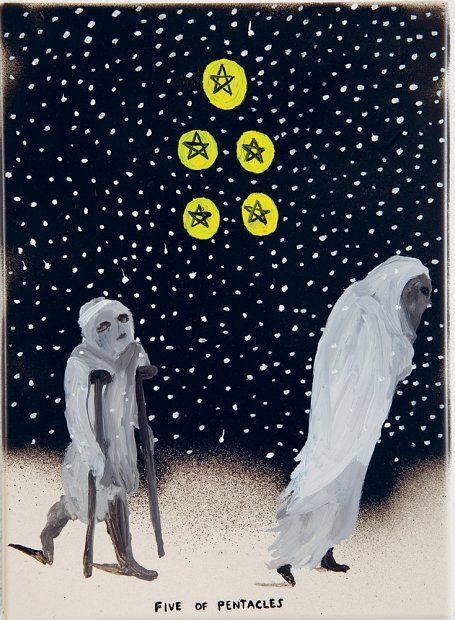 Five of pentacles / Richard Lewer