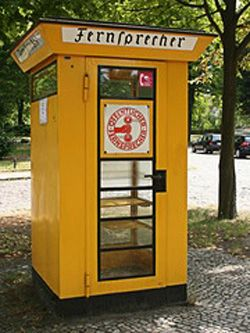 .Telephone Booth