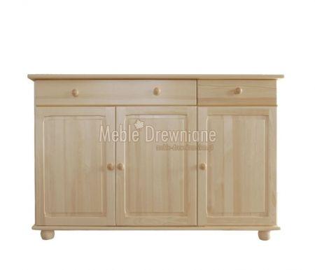 Komoda drewniana sosnowa [53] Meble Drewniane - meble sosnowe producent, łóżka, komody, witryny