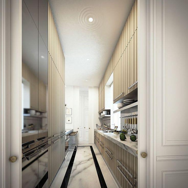Narrow Kitchen Cabinet Ideas: Best 25+ Long Narrow Kitchen Ideas On Pinterest