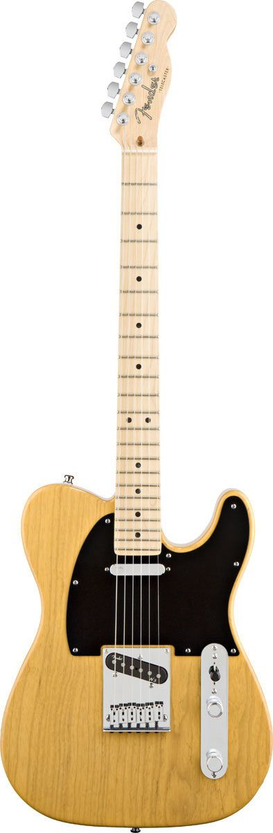 Fender American Deluxe Tele Ash MN Butterscotch Blonde Main Product Image