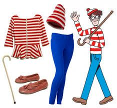 DIY Waldo Inspired Halloween Costume Idea! Your local Goodwill is a great place to find everything you need for Halloween and more visit us today to get started: www.goodwillvalleys.com/shop