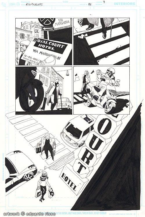 Month of Art Stars: Artist's Choice - Eduardo Risso   Comics Should Be Good @ CBR