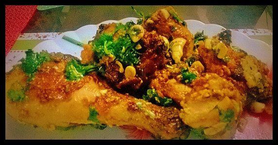 Fried Butter Chicken - Mera Wala Dabba