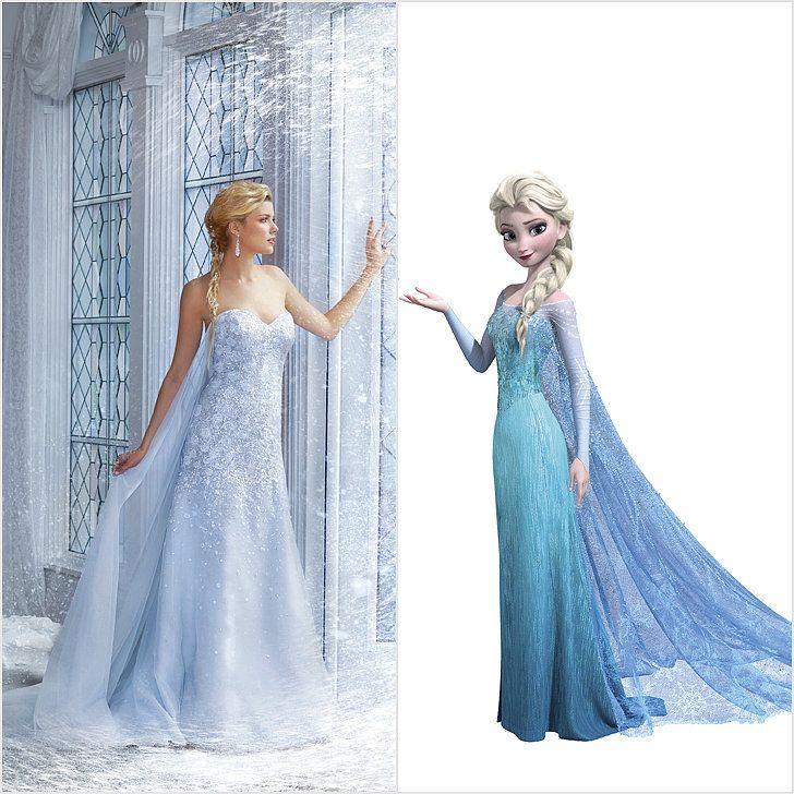 Blue dress disney princess set