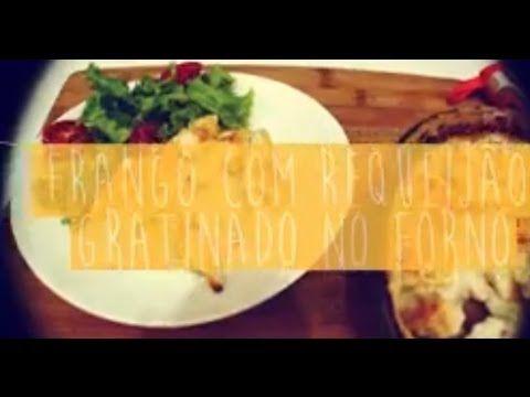 [VÍDEO] Frango com requeijão gratinado no forno   COZINHANDO PARA 2 OU 1