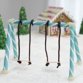 Candy Stick Swing Set