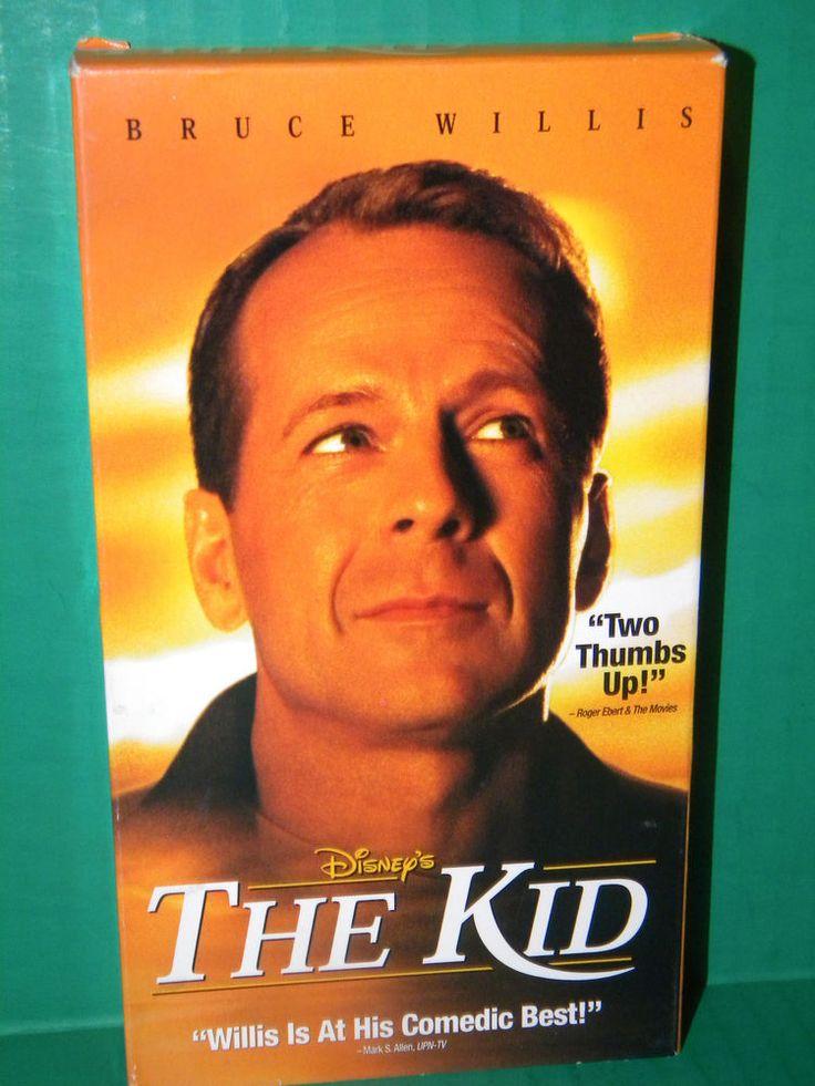 Disneys The Kid (VHS, 2001) Bruce Willis Spencer Breslin Lily Tomlin rare! 1753