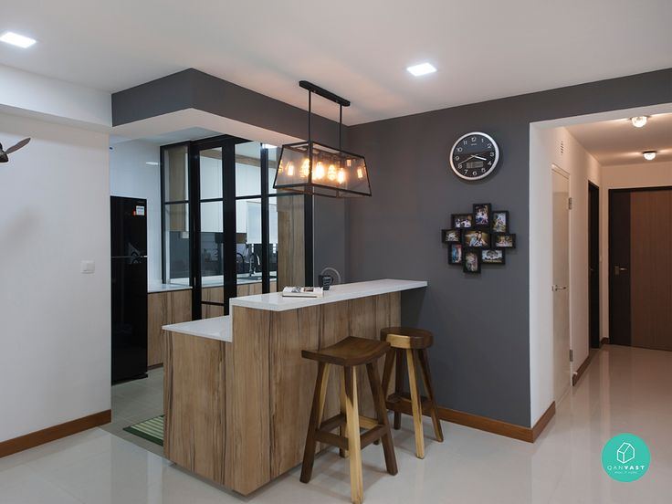 6 brilliant 4 room hdb ideas for your new home small - Home improvement ideas living room ...