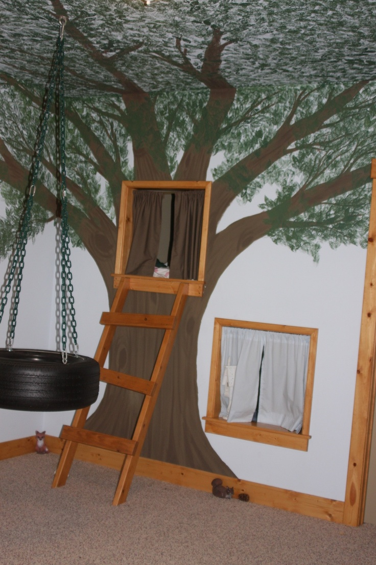 tree house bedroom for the kids i love themed rooms pinterest