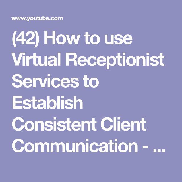 The  Best Virtual Receptionist Ideas On