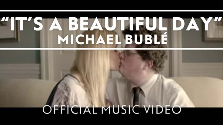 Michael Bublé – It's a Beautiful Day  Hope you enjoy this video today.  Hope you enjoy! CHECK OUT OUR PAGE FOR MORE GREAT STUFF CLICK HERE to check out our new website Everybody Loves Life We Love Ya, Dominic & Frank #EverybodyLovesItalian www.EverybodyLovesItalian.com