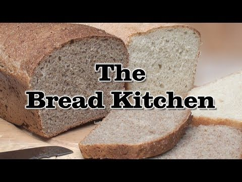 Quick, easy, healthy, cheap! Thank you #titlinihan Classic No-Knead Bread Recipe (Grant Loaf) in The Bread Kitchen - YouTube