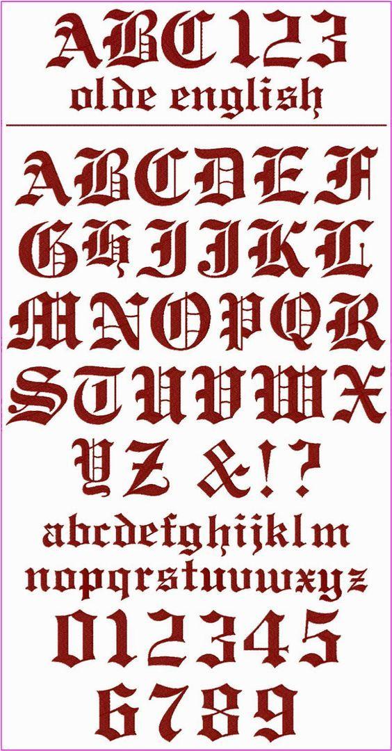 Les 7 meilleures images du tableau alphabets lettres - Can font les franqueses ...