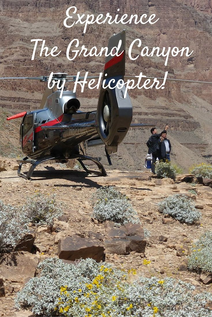 Do the Canyon from Las Vegas or South Rim. Details http://www.grandcanyonhelicopters.org/mbx/005/