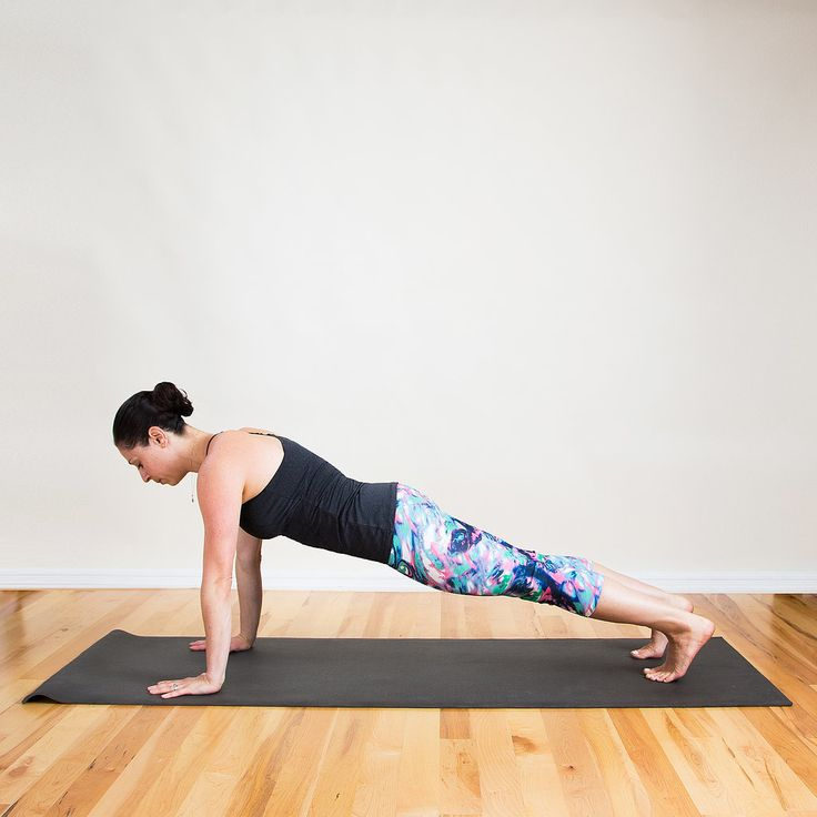 The Most Effective (and Most Fun!) Yoga Sequence For Chiseled Arms and Abs