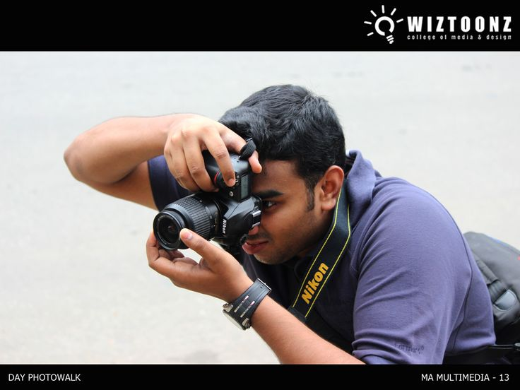 """Students in action – behind scenes - Day Photo Walk Workshop – for M.A. multimedia batch – conducted by Ms.Priya RadhaKrishnan, Photography mentor"