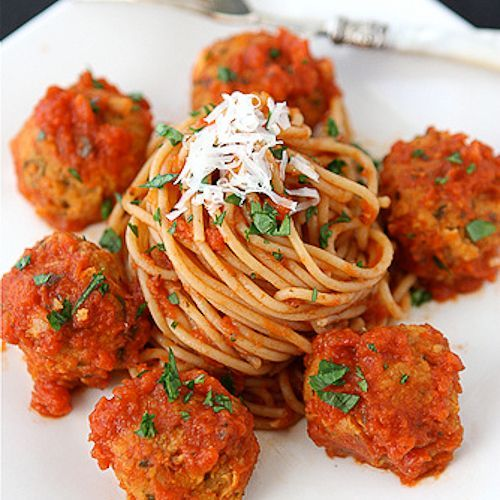 """Cannellini Bean Vegetarian """"Meatballs"""" with Tomato Sauce Recipe #Vegetariancooking"""