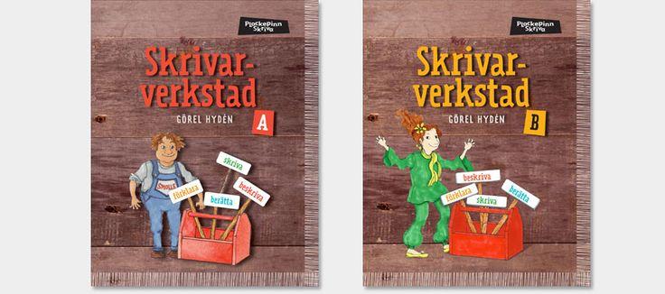 Sanoma Utbildning : Plockepinn - Skrivarverkstad I Skrivarverkstad A får…