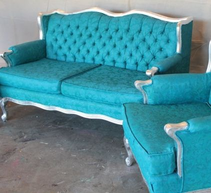 Painted furniture... As in, painted upholstery!!,omg