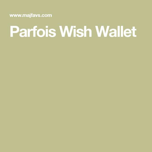 Parfois Wish Wallet