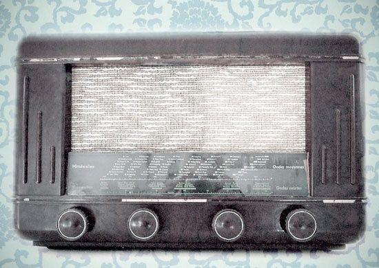 Cart - Ansichtkaart - Vintage radio - C979 | Cart Swiss | kaartfanaat
