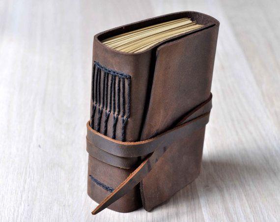 Aangepaste lederen dagboek, gepersonaliseerde lederen laptop, handgemaakte tijdschriften, lederen schetsboek, blanco boeken