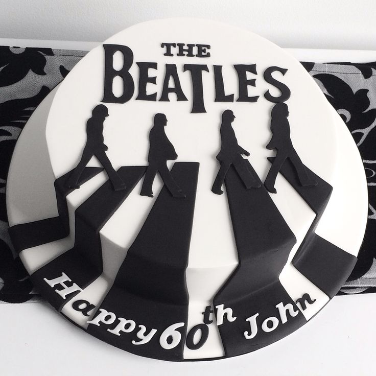 The Beatles Abbey Road Cake by Sweet Palate Cakes Kew Melbourne
