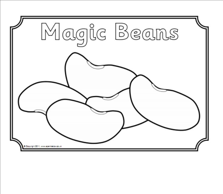 Magic Beans Png 800 696 Jack And The Beanstalk Coloring Pages Free Coloring Pages