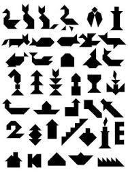 Kuvahaun tulos haulle tangram tehtäviä lapsille