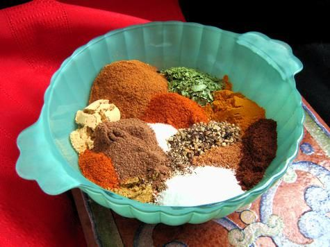 Recipe - Ras El Hanout -- I love when magazines give you a recipe that makes perfect sense up until a single spice or vegetable. Here's a recipe for Ras El Hanout.... which is the ingredient called for in another recipe. :)