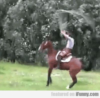 Just Jumping Rope On A Horse - http://wittybugs.com/just-jumping-rope-on-a-horse/