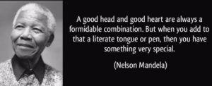Nelson Mandela Quote on Education