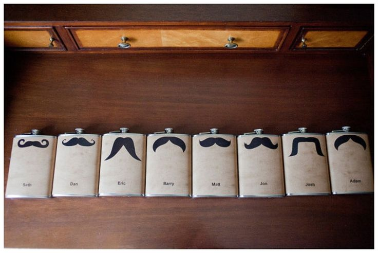 One of these personalised moustache hip flasks is all you need to have a bit of fun with your drink. Great for the guy who can't grow his own mo (don't mention the use when you give it to him though!).