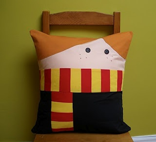 Harry Potter pillow! YES!