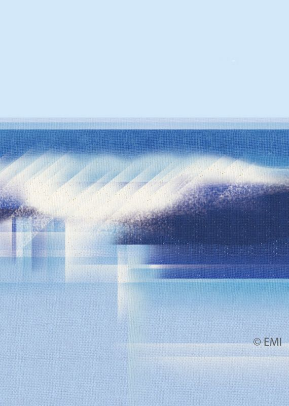 Blue wave | digital art | by EMI 2015