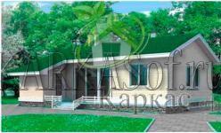 предлагаем каркасные дома под ключ недорого