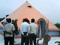 Markandeya Maharshi Pyramid Meditation Center  http://pyramidseverywhere.org/pyramids-directory/pyramids-in-north-india/pyramids-in-gujarat #Pyramid #Pyramids