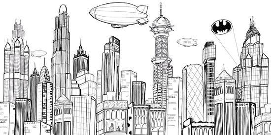 23 Best Images About Skyline On Pinterest Batman Batman